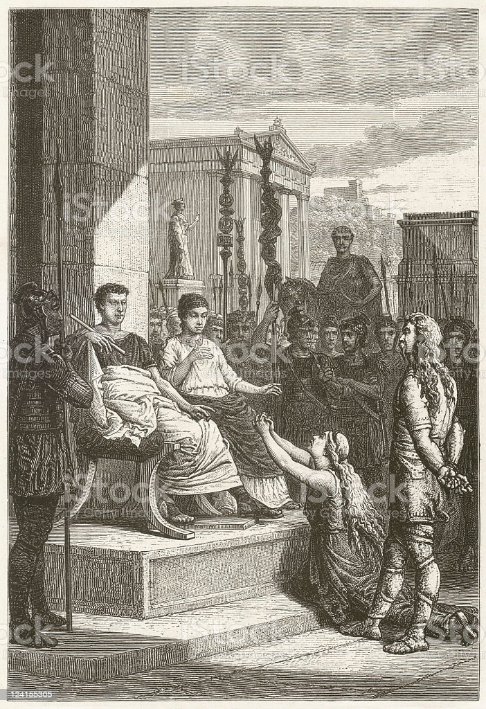 Captive teutons royalty-free captive teutons stock vector art & more images of adult