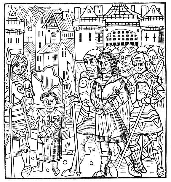 захват сент-луис - st louis stock illustrations