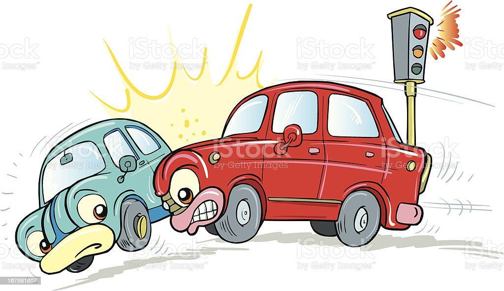 Autounfall Stock Vektor Art und mehr Bilder von Auto 167591807 | iStock