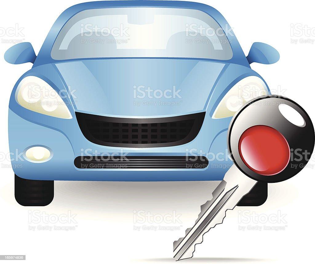 Car Key royalty-free stock vector art