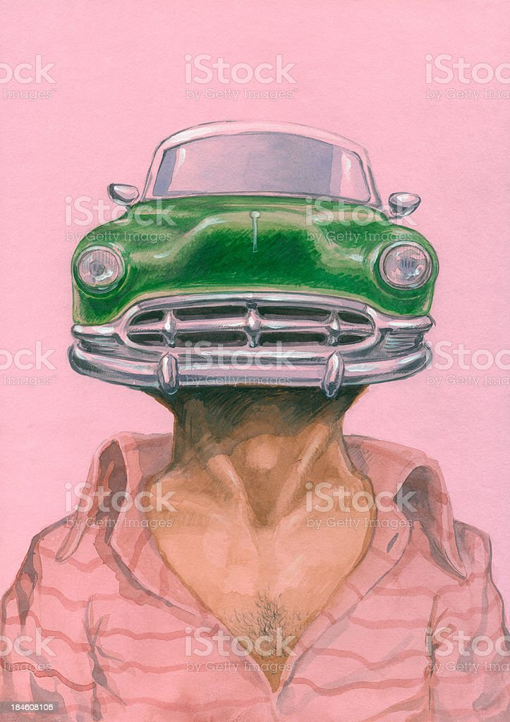 Car_man – Vektorgrafik
