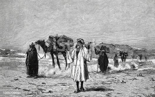 Illustration from 19th century