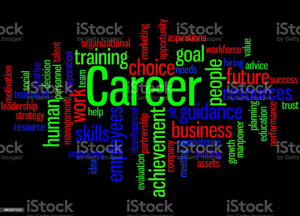 Career, word cloud concept 3 royalty-free career word cloud concept 3 stock vector art & more images of achievement