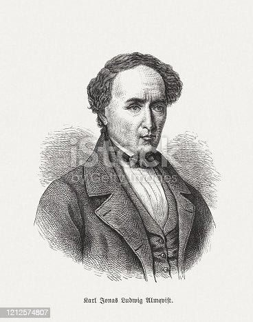 istock Carl Jonas Love Almqvist (1793-1866), Swedish writer and composer 1212574807