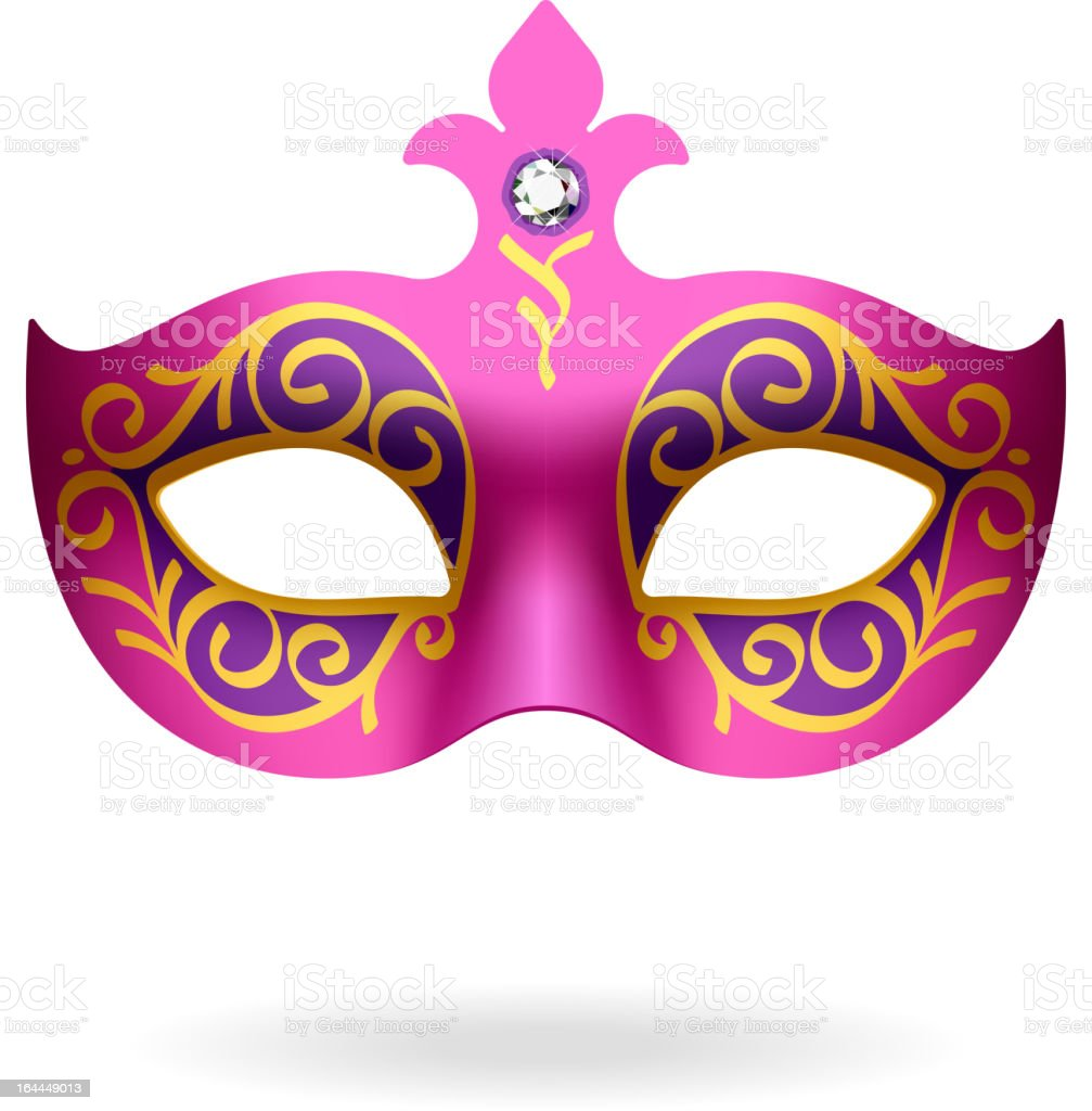 Carnival Mask royalty-free stock vector art