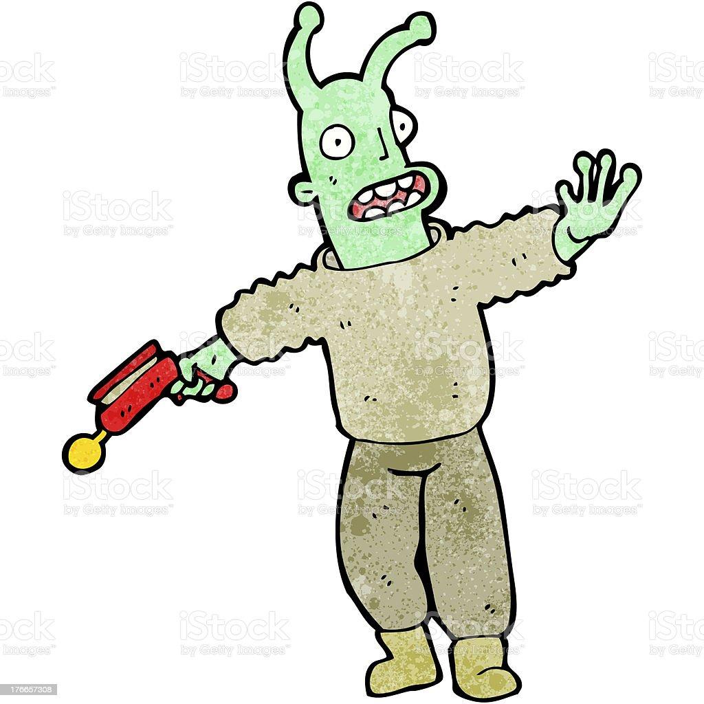 cartoon alien royalty-free cartoon alien stock vector art & more images of alien