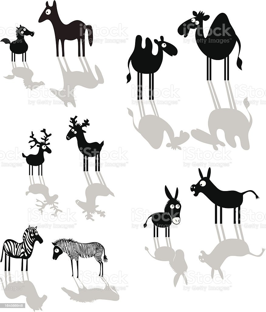 Cartoon animals royalty-free cartoon animals stock vector art & more images of animal
