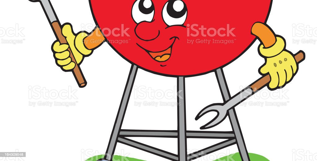 Cartoon barbeque royalty-free cartoon barbeque stock vector art & more images of art product