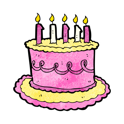 Enjoyable Cartoon Birthday Cake Stockvectorkunst En Meer Beelden Van Bizar Funny Birthday Cards Online Inifodamsfinfo