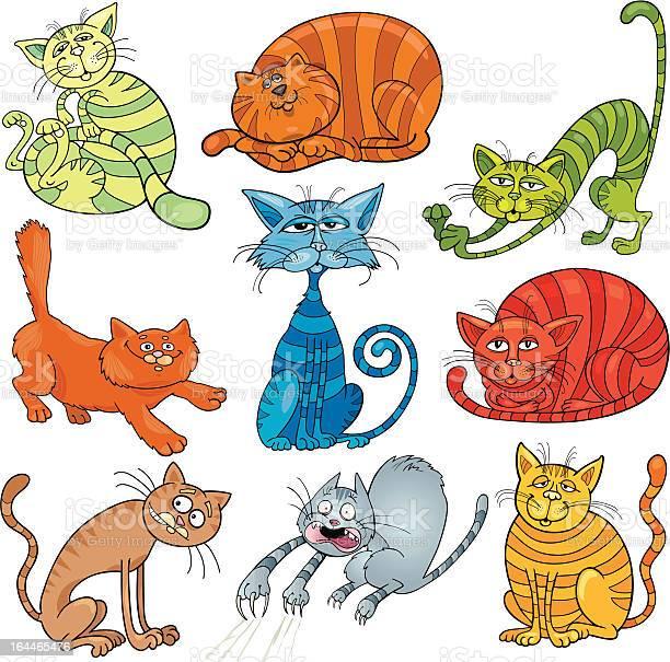 Cartoon cats set illustration id164465476?b=1&k=6&m=164465476&s=612x612&h=hqouwsntdzwaberybrhr3aggcnsraummzrj0ai2vafk=