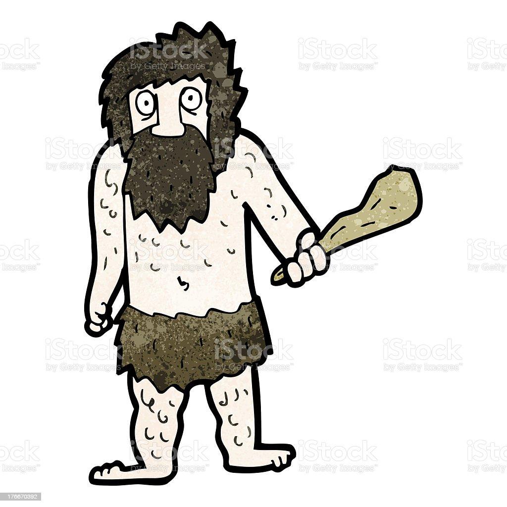Hombre de historieta cave ilustración de hombre de historieta cave y más banco de imágenes de adulto libre de derechos