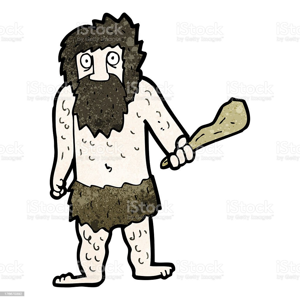 cartoon cave man royalty-free cartoon cave man stock vector art & more images of adult