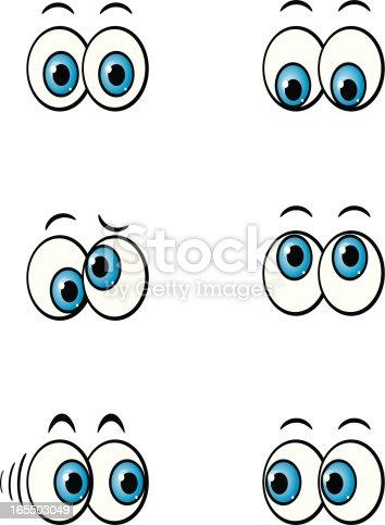 istock cartoon eyes 165503049