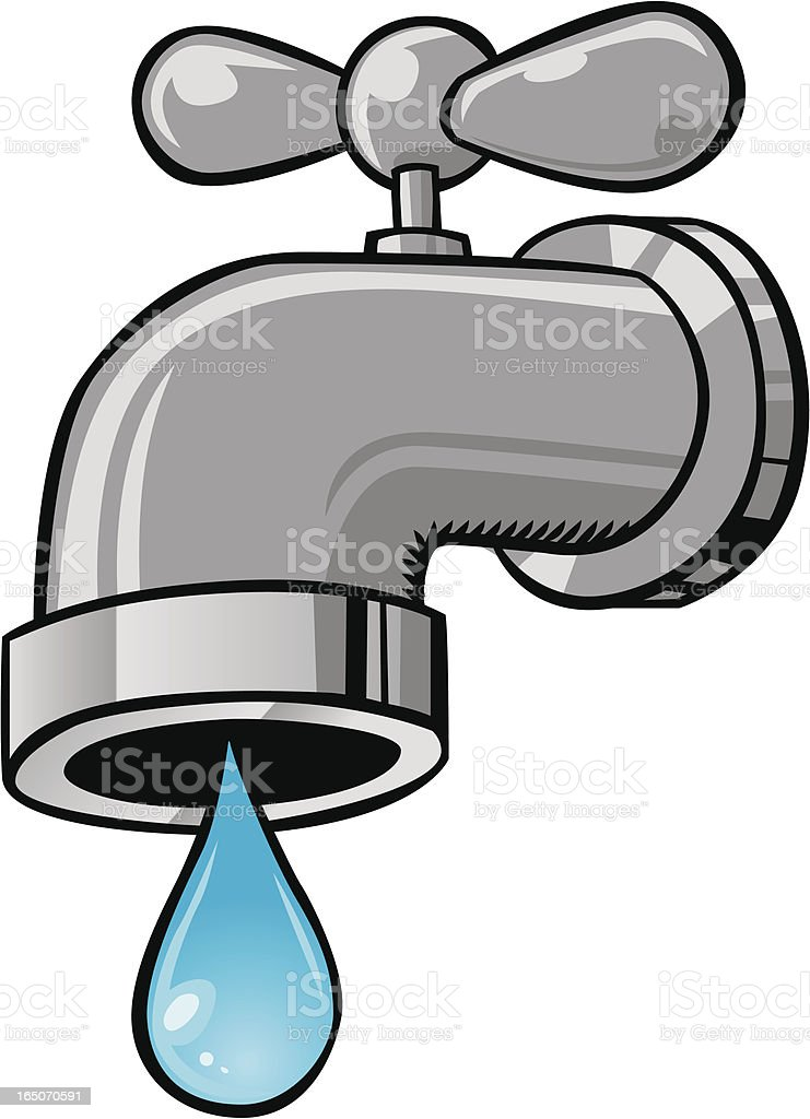 royalty free water faucet clip art vector images illustrations rh istockphoto com water faucet clipart free water faucet clip art free