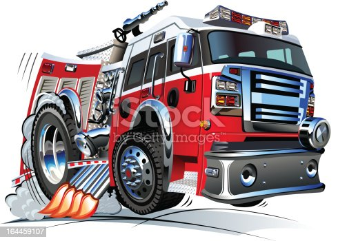 Cartoon Fire Engine Clip Art - Fire Truck Vector - Free Transparent PNG  Clipart Images Download