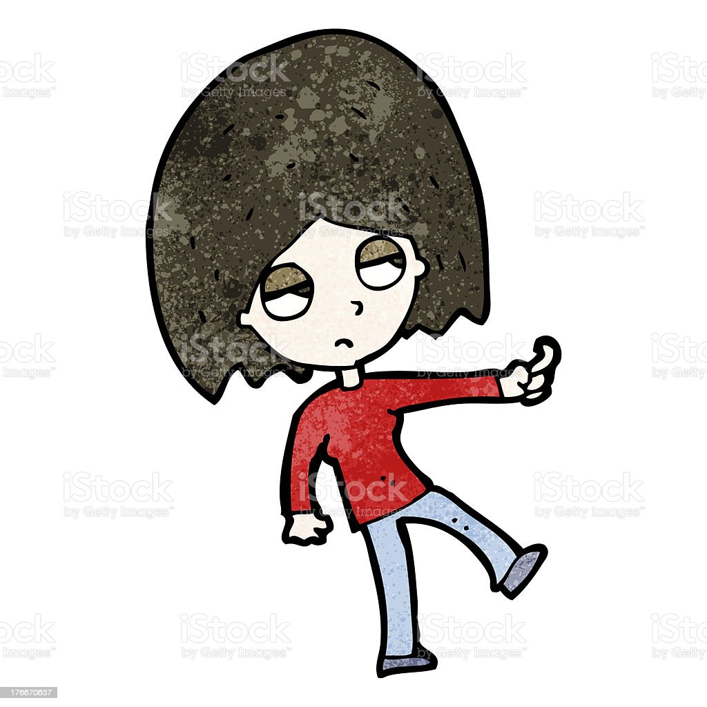 cartoon gesturing woman royalty-free cartoon gesturing woman stock vector art & more images of adult