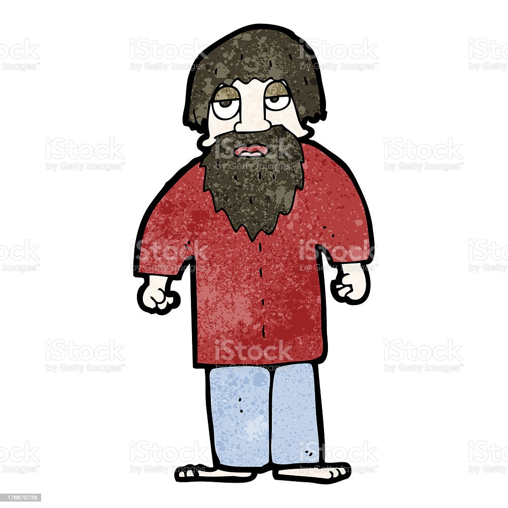 cartoon hippie man royalty-free cartoon hippie man stock vector art & more images of adult