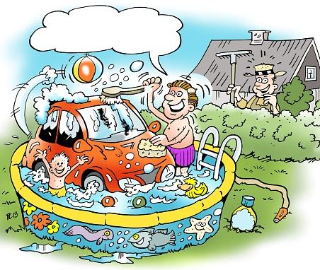 Смешные картинки мойка машин, хорошего настроения