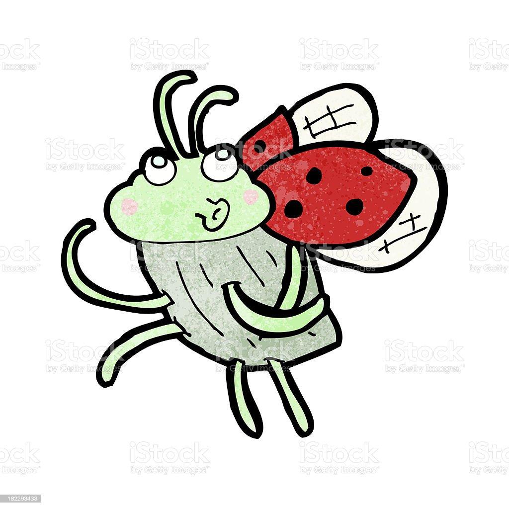 cartoon ladybug royalty-free stock vector art
