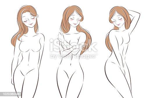 ᐈ Imagen De Mujer Desnuda Dibujos Animados