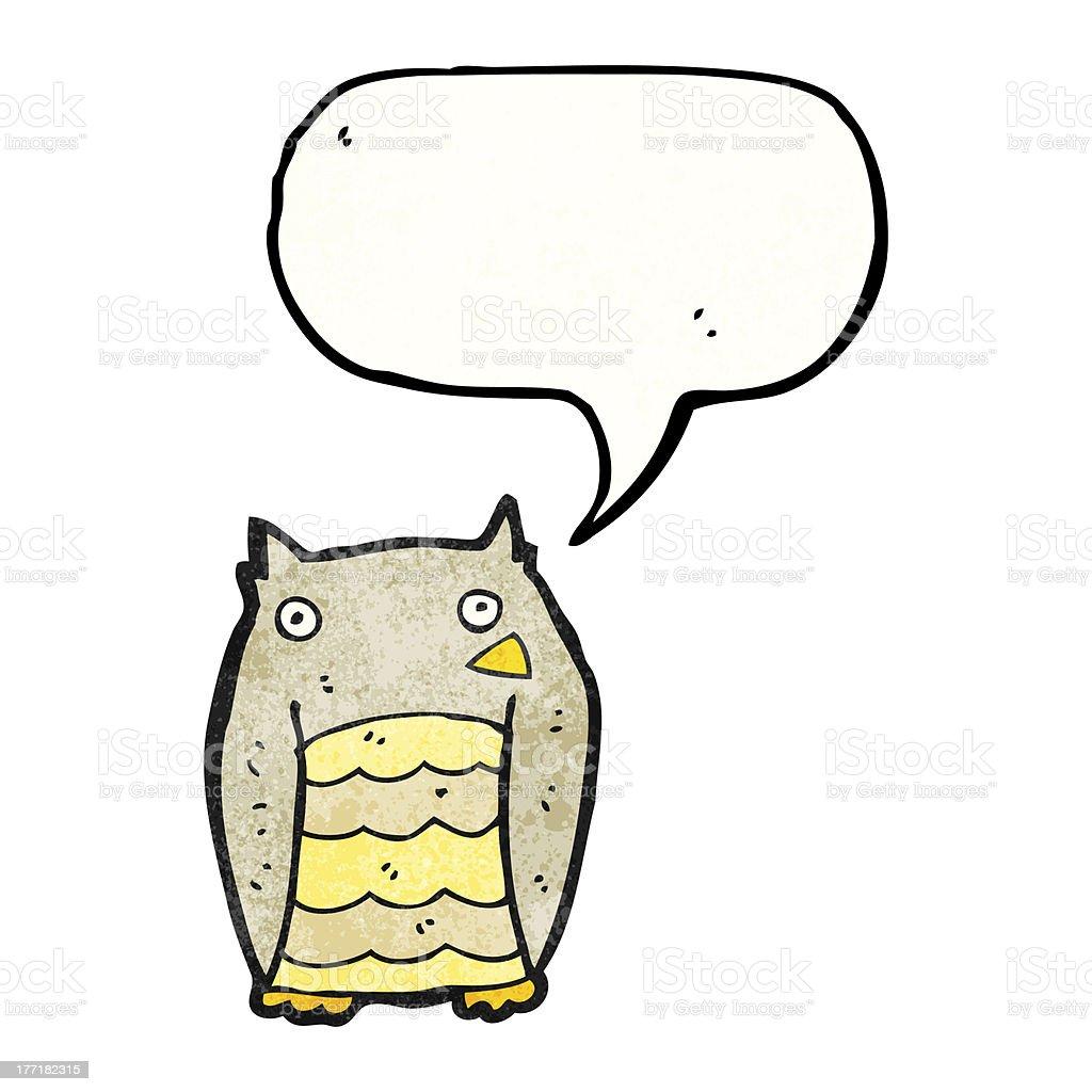 cartoon owl royalty-free stock vector art