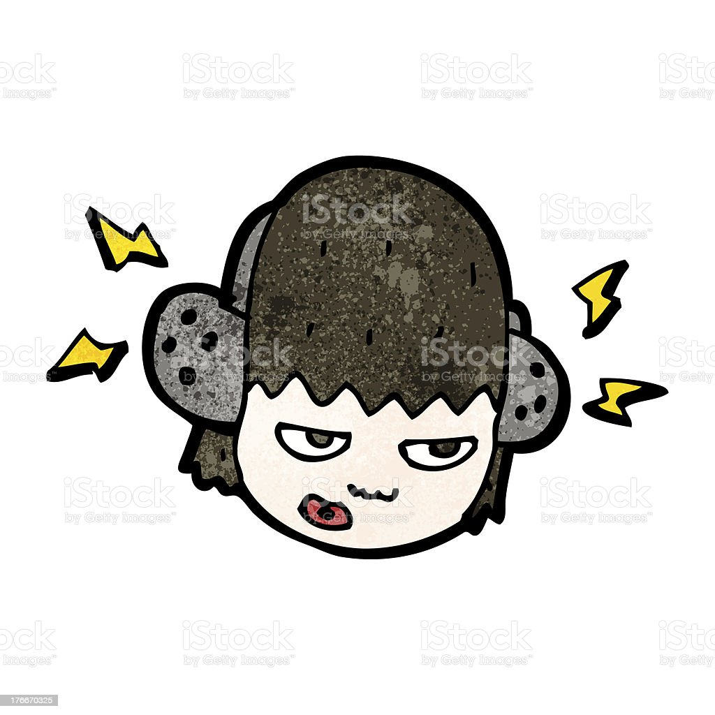 cartoon person listening to music royalty-free cartoon person listening to music stock vector art & more images of bizarre