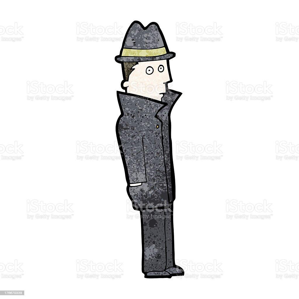 Historieta privadas de detectives ilustración de historieta privadas de detectives y más banco de imágenes de clip art libre de derechos