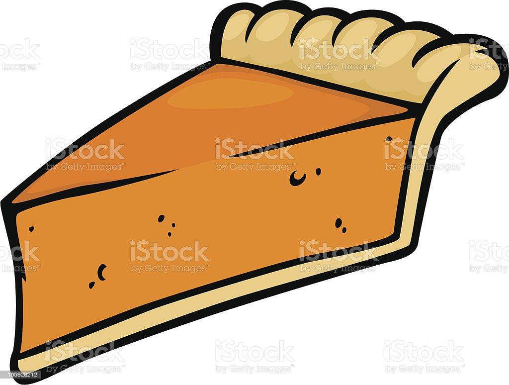 Cartoon Pumpkin Pie Stock Illustration - Download Image ...