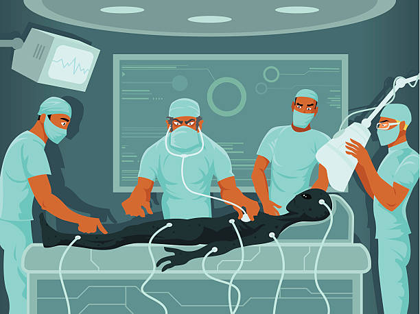 Anesthesiologist In The Operating Room