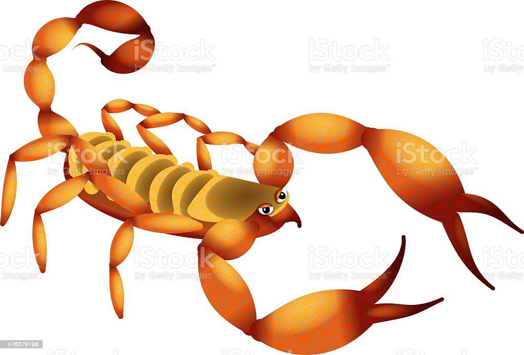 Scorpion Dessin animé - Illustration vectorielle