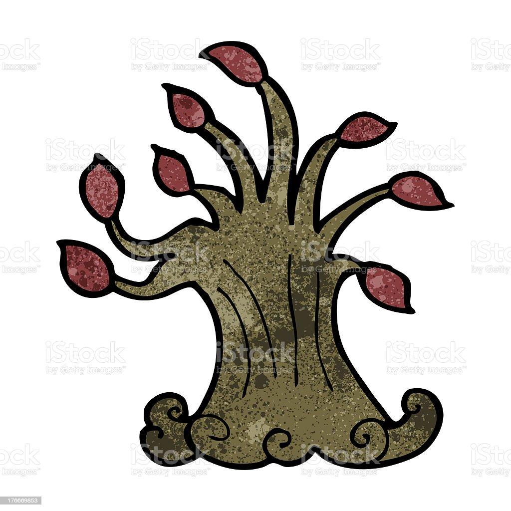 cartoon spooky old tree royalty-free cartoon spooky old tree stock vector art & more images of bizarre