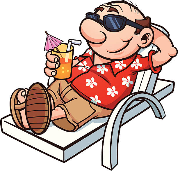 Royalty Free Relax Clip Art, Vector Images & Illustrations ...