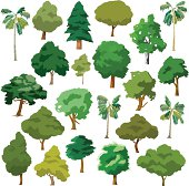 Cartoon Trees Package