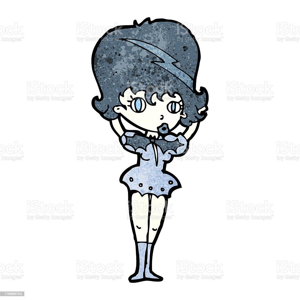 cartoon vampire girl royalty-free cartoon vampire girl stock vector art & more images of adult