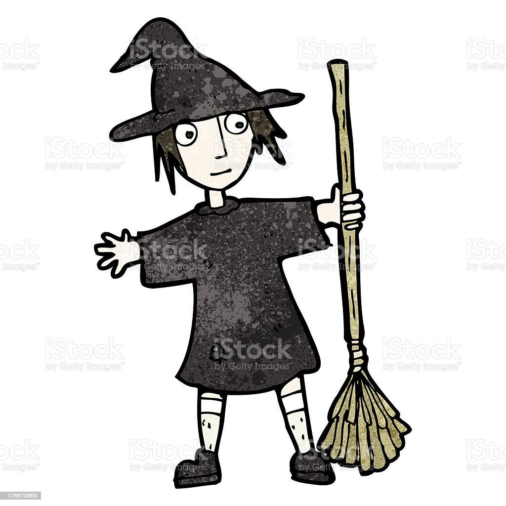 cartoon witch with broom royalty-free cartoon witch with broom stock vector art & more images of adult