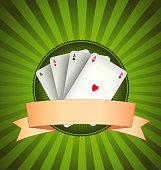 Casino Poker Aces Banner