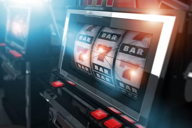 Casino Slot Games - Illustration vectorielle