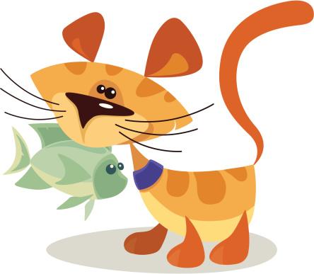 Cat Stock Vektor Art und mehr Bilder von Charakterkopf