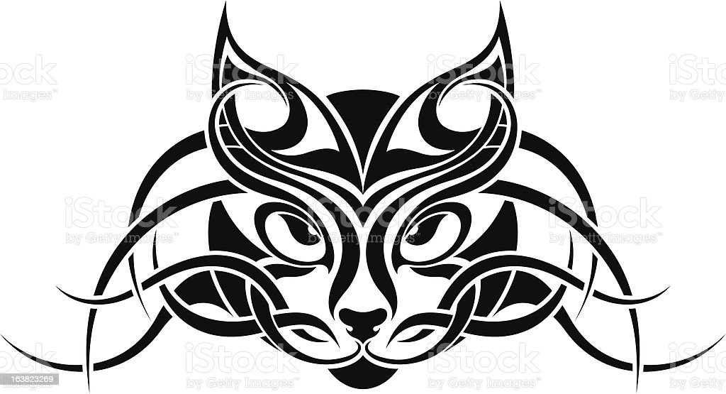 Line Drawing Cat Face : Cat line drawing home decor pets products zazzle