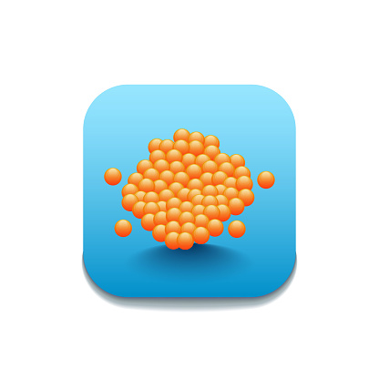 Caviar Seafood Logo Vector Symbol Icon Design Style