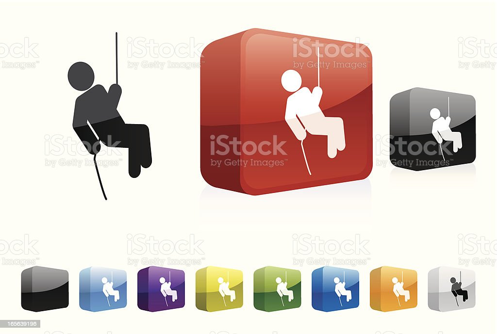 Caving | 3D Collection royalty-free stock vector art
