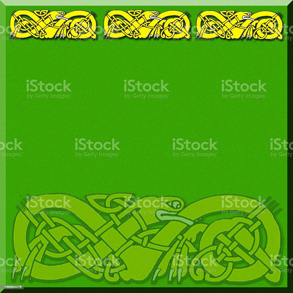 Celtic Border 2 royalty-free celtic border 2 stock vector art & more images of celebration event