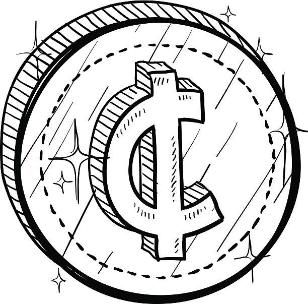 Top 60 Us Coin Clip Art, Vector Graphics and Illustrations