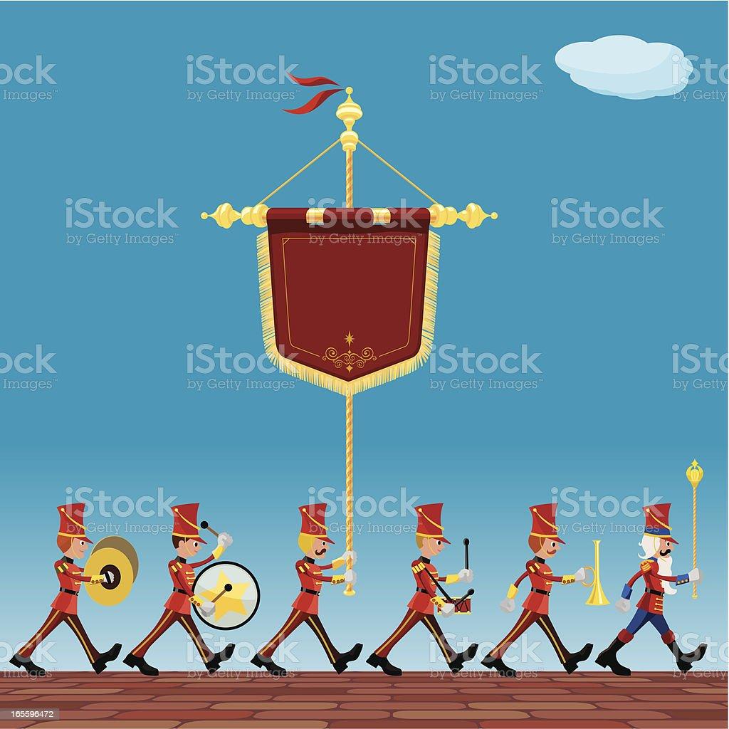 ceremonial parade royalty-free stock vector art