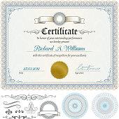 istock Certificate 166055739