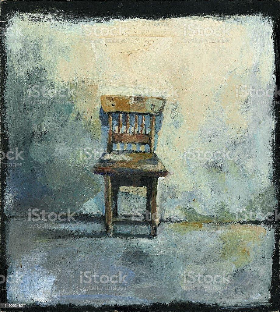Chair royalty-free stock vector art