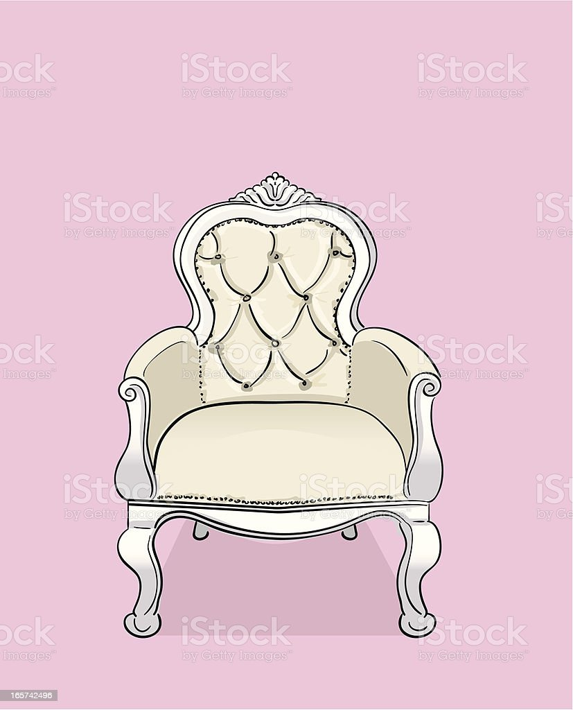 Chair vector art illustration