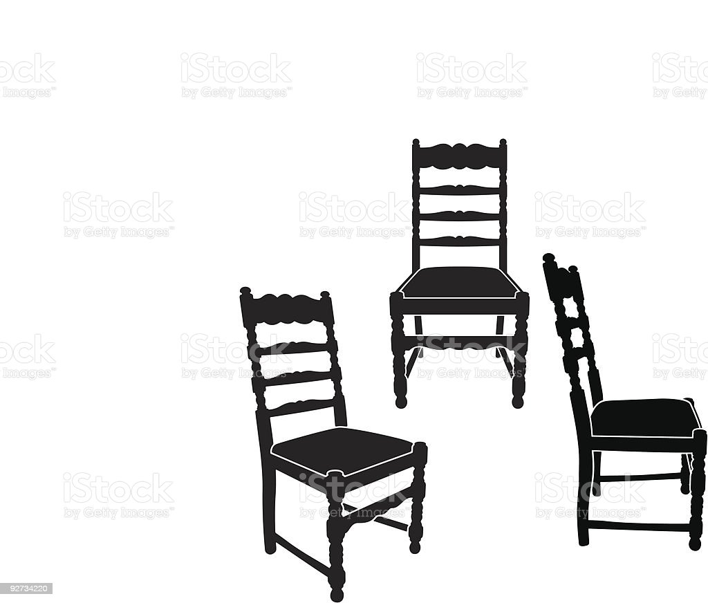 Chair royalty-free chair stock vector art & more images of antique