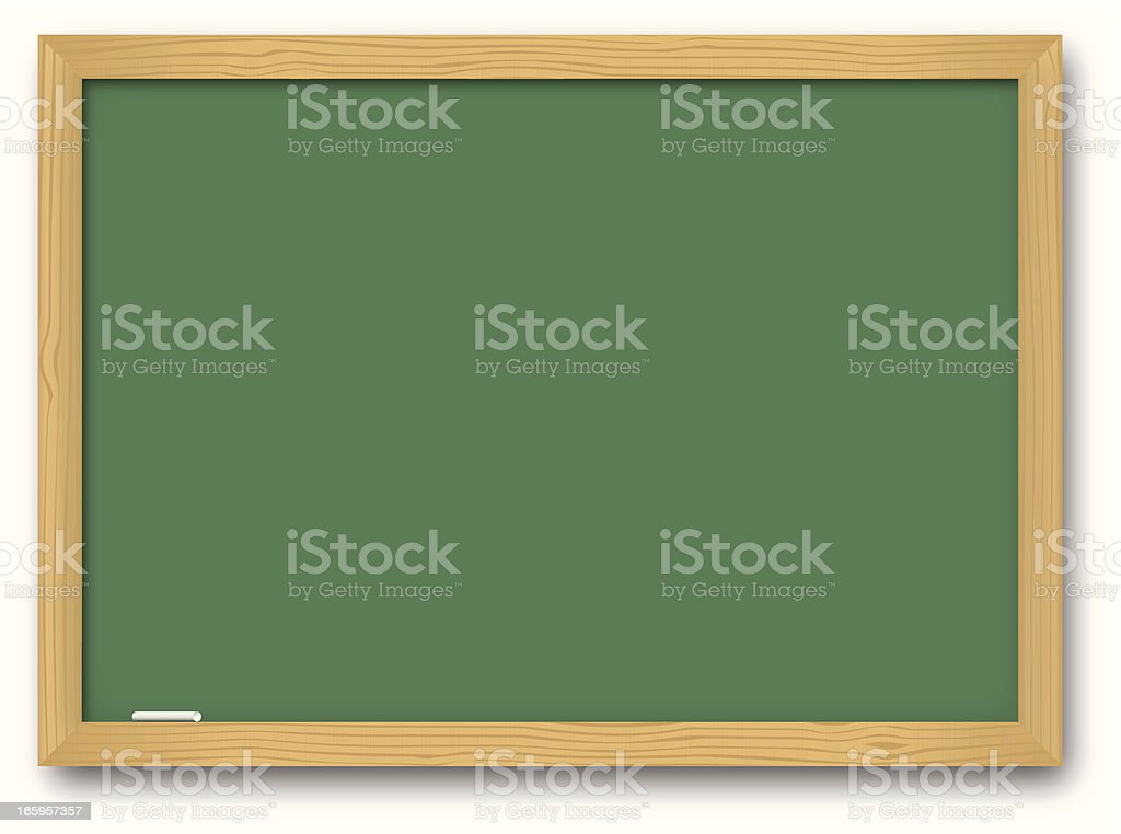 Chalk Board royalty-free stock vector art