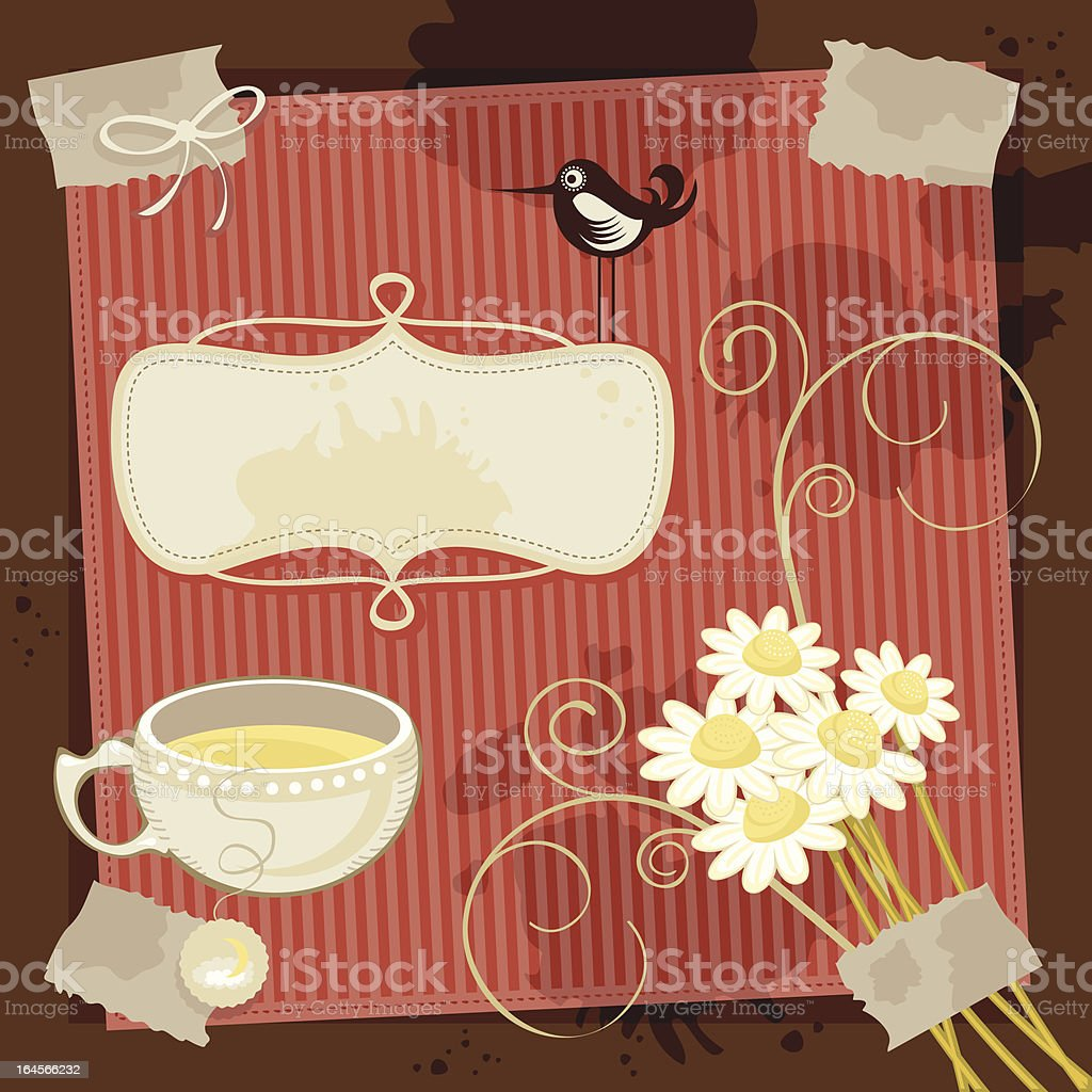 Chamomile Background royalty-free chamomile background stock vector art & more images of adhesive tape